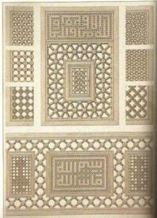 صورة تجسد إبداع نقاش الخشب المغربي 000000001